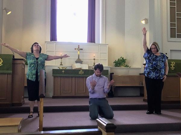 Prayer poses 1