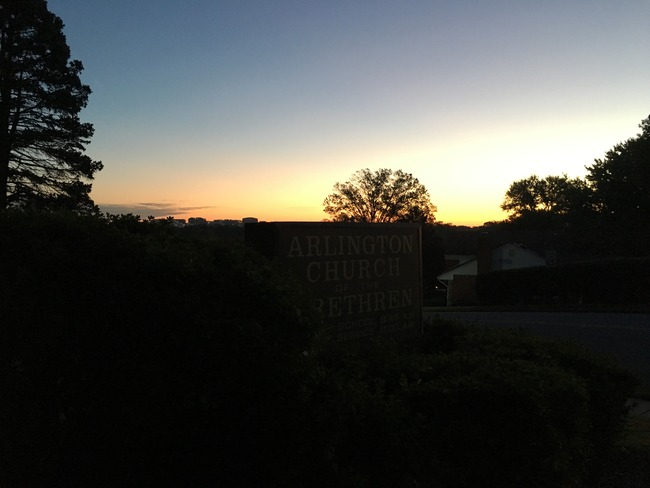 Sunrise view from ACOB's perch.