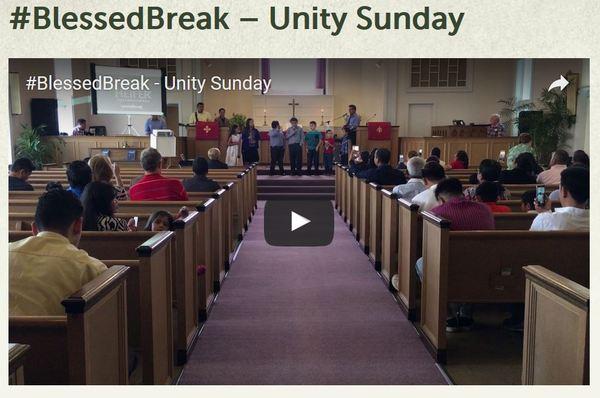 Blessed Break Unity Sunday