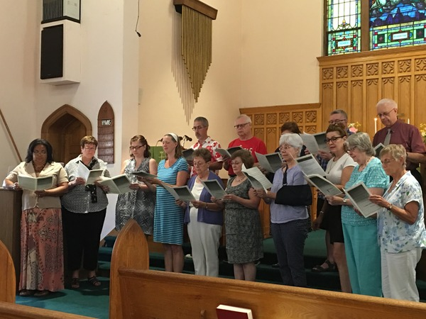 Community choir.