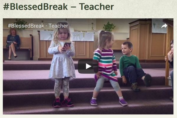 Blessed Break Teacher