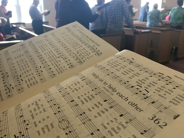 Singing together