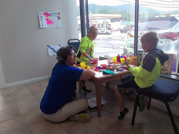 Lisa reported about the disaster relief situation in West Virginia, just back from serving there with Childrens Disaster Services.