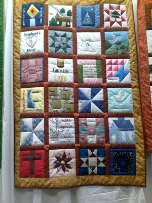 Quilts auctioned at annual conference