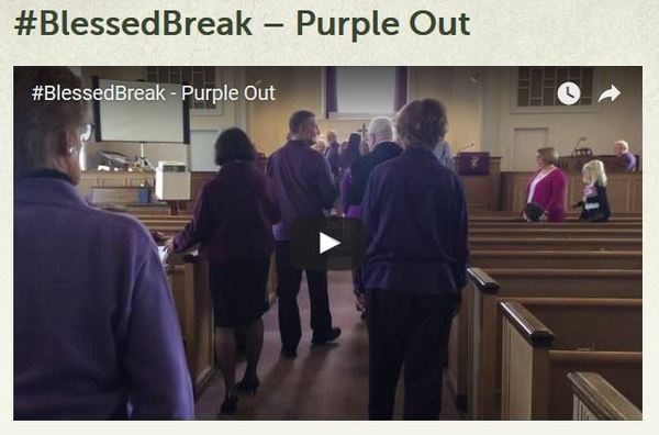 Blessed Break Purple Out