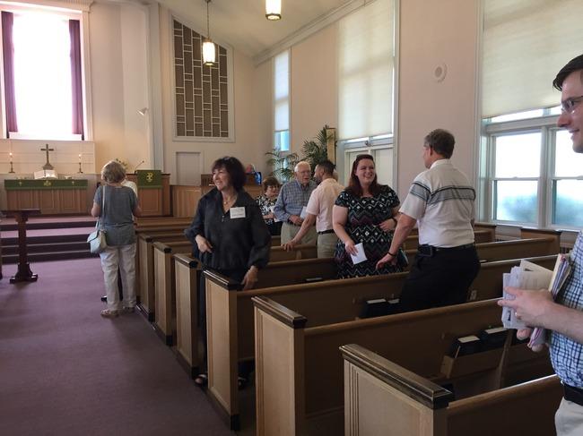 Fellowship after Worship