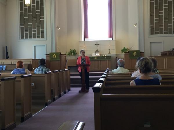 Charlotte preaching