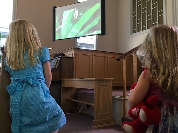 Childrens Church on transformation.
