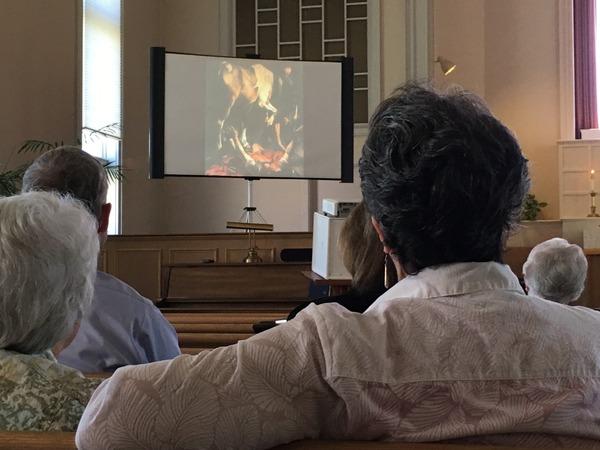 "Caravaggio's ""Conversion of Paul"""