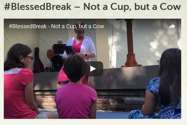 Blessed Break Not a Cup but a Cow