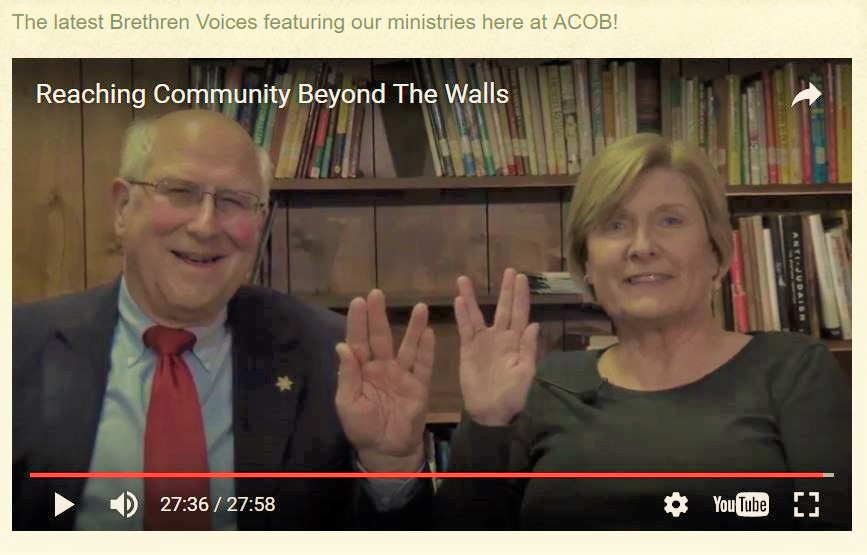 Brethren Voices on ACOB
