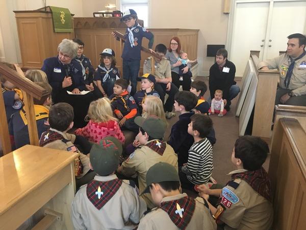 cub scouts + kids