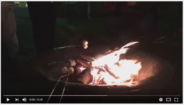 YA Gathering Campfire
