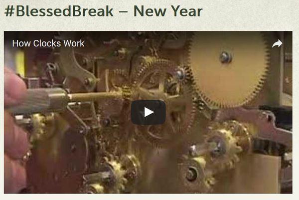 Blessed Break New Year