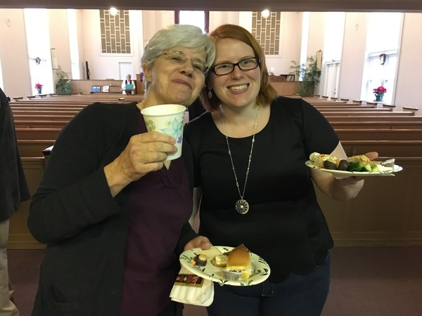 Refreshments after Worship.