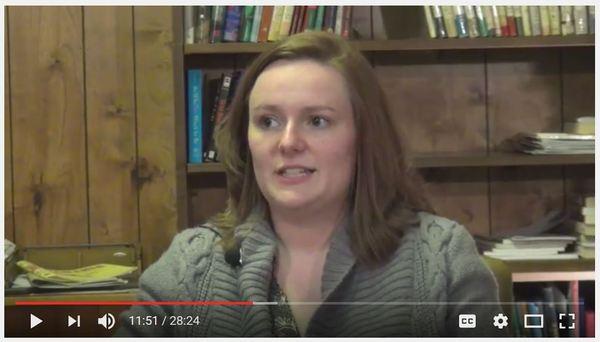 Laura on Brethren Voices