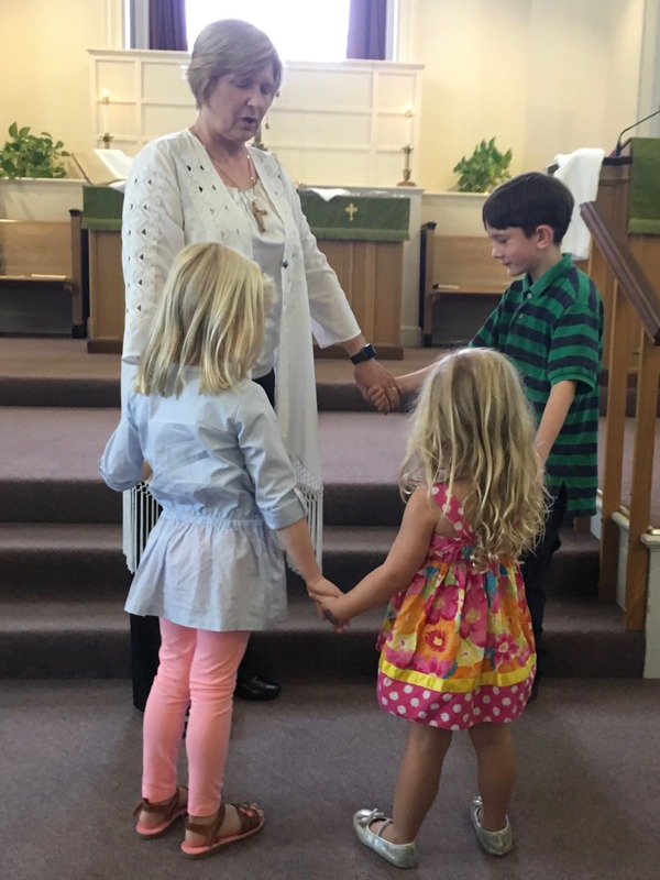 Prayer after the message for children at heart