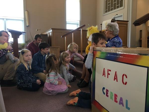 children & cereal