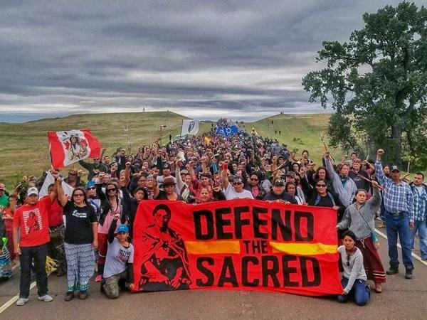 Defend the Sacred, Sioux Tribe at Standing Rock